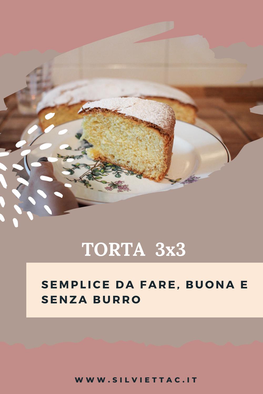 TORTA 3X3