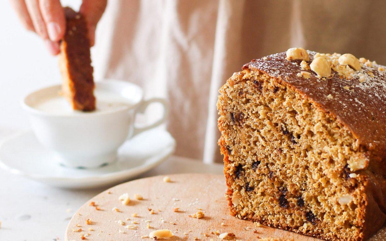 Plum-Cake integrale con frutta secca